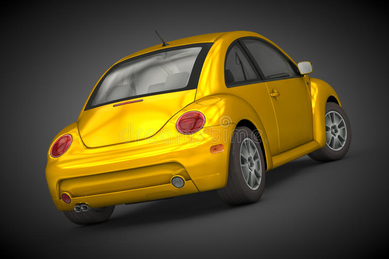 Volkswagen New Beetle (2004) royalty free stock photography