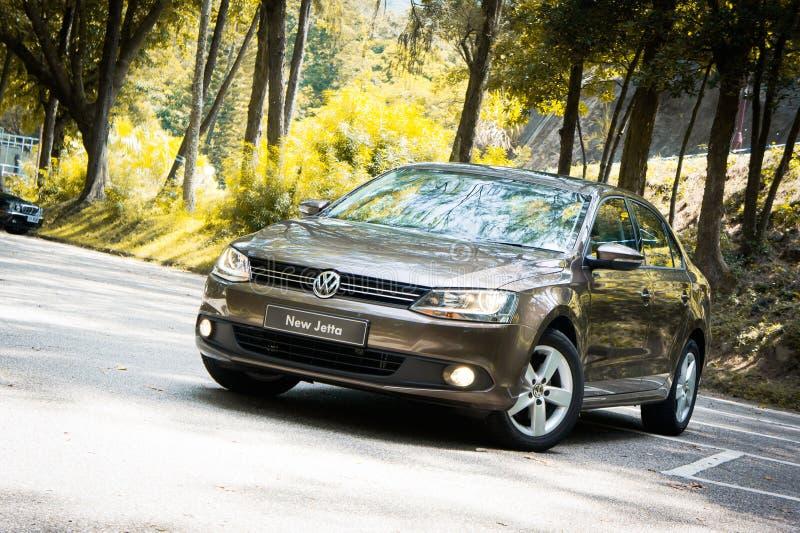 Volkswagen Nieuwe Jetta royalty-vrije stock foto's
