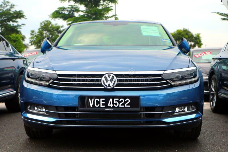 Volkswagen Passat är en stor familjebil som tillverkas och marknadsföras av Volks arkivfoton