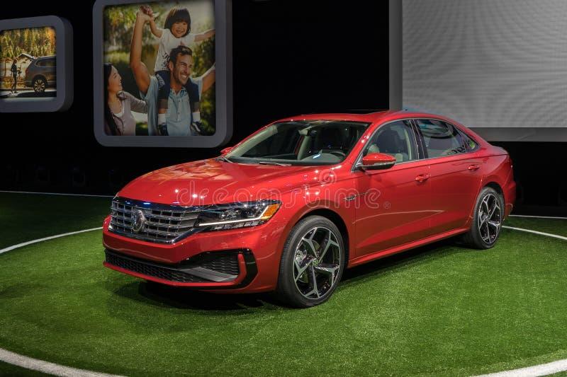 2020 Volkswagen Passat stock foto