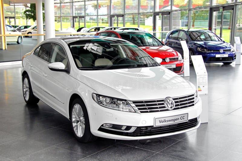 Volkswagen Passat cm stockfotos