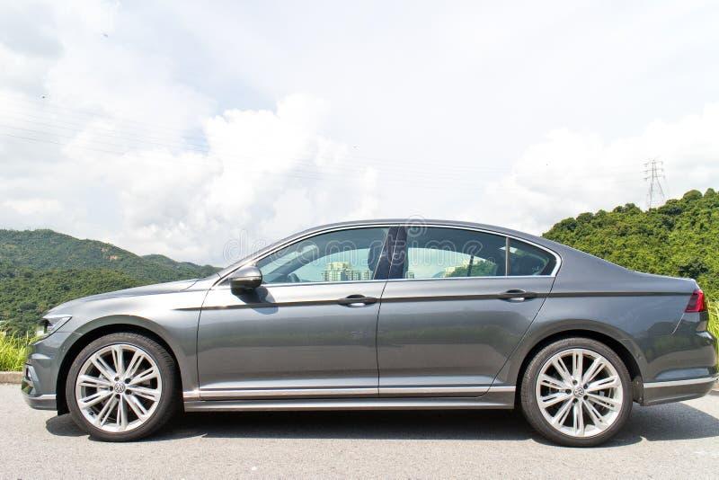 Volkswagen Passat-van de r-Lijn 2015 de Dag Testaandrijving stock foto