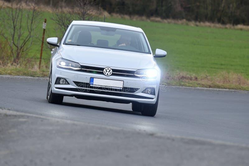 Volkswagen Polo fotografering för bildbyråer