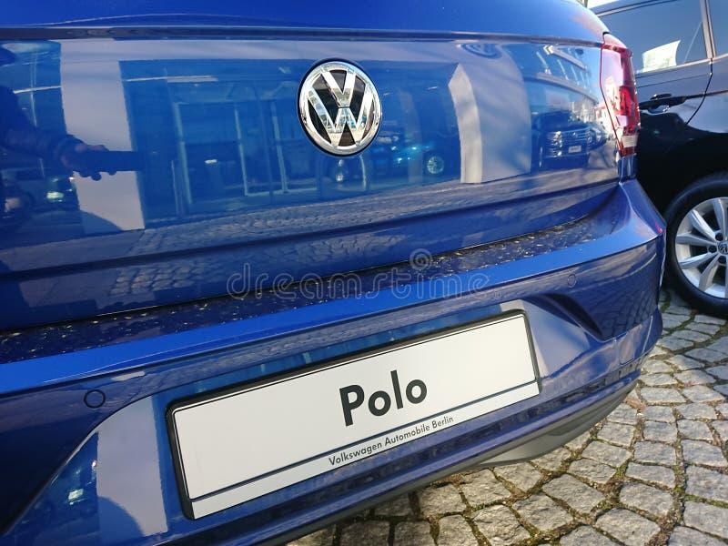 Volkswagen Polo-auto royalty-vrije stock afbeeldingen