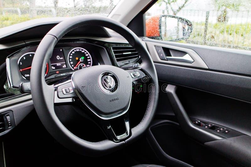 Volkswagen Polo 2018 Innen stockbild