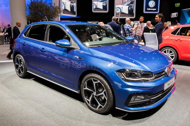 Volkswagen Polo R-linje bil royaltyfria foton