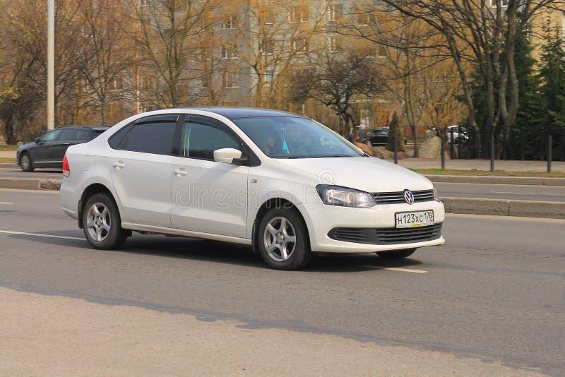 Volkswagen Polo Sedan arkivfoto