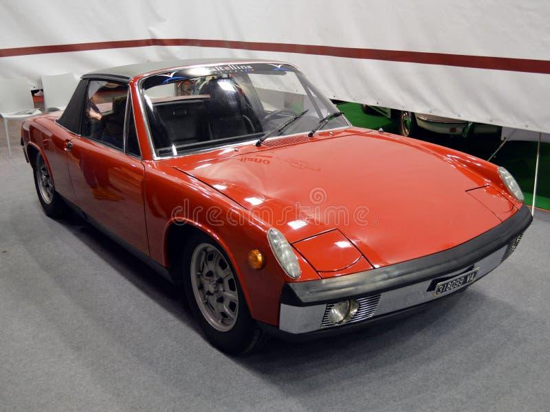 Volkswagen-Porsche 914 imagens de stock royalty free