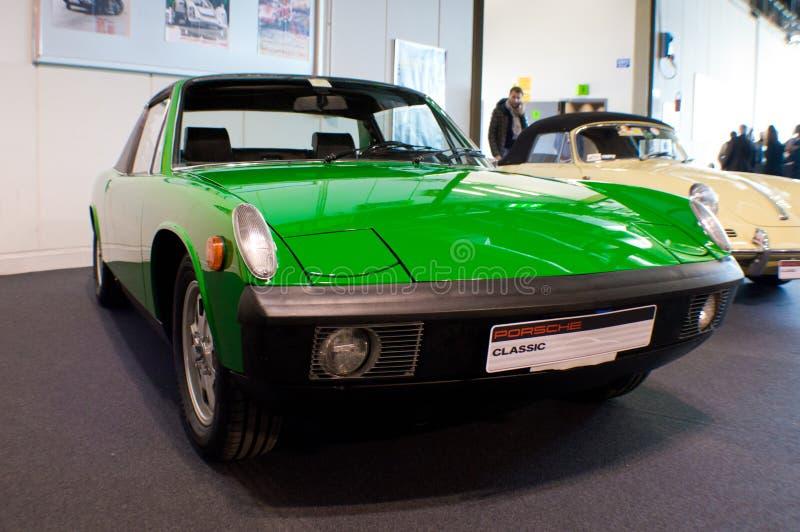 Volkswagen-Porsche 914 imagens de stock
