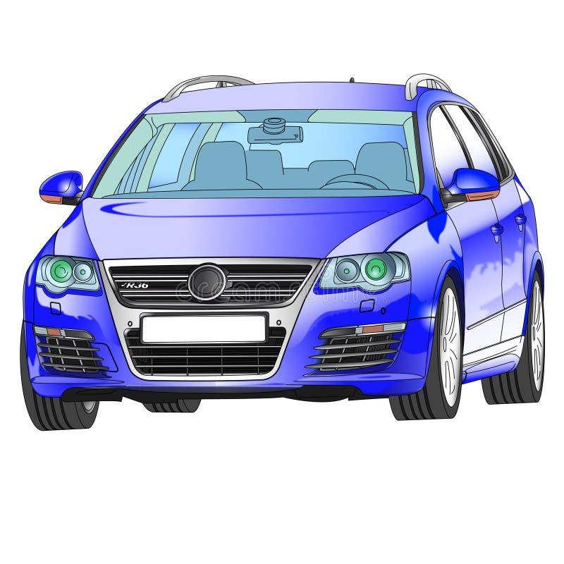 Volkswagen R36 royalty free stock photo