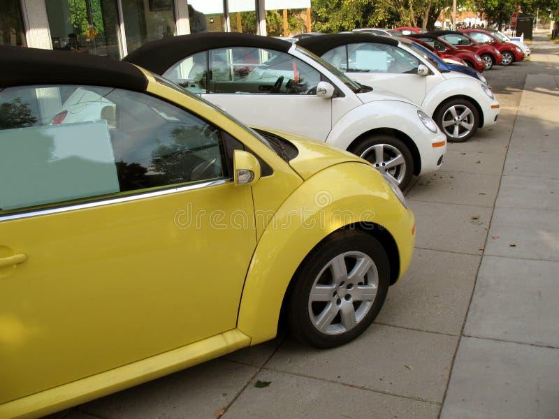 Volkswagen-Reihe stockfotos