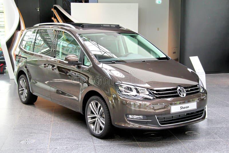 Volkswagen Sharan zdjęcie royalty free