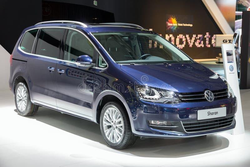 Volkswagen Sharan royalty-vrije stock afbeeldingen