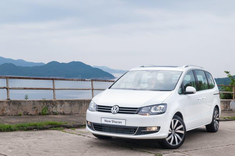 Volkswagen Sharan 2016 royalty-vrije stock foto's