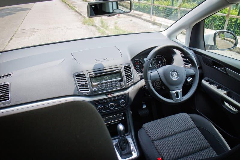 Volkswagen Sharan 2014 Interior Editorial Photo - Image of vehicle ...