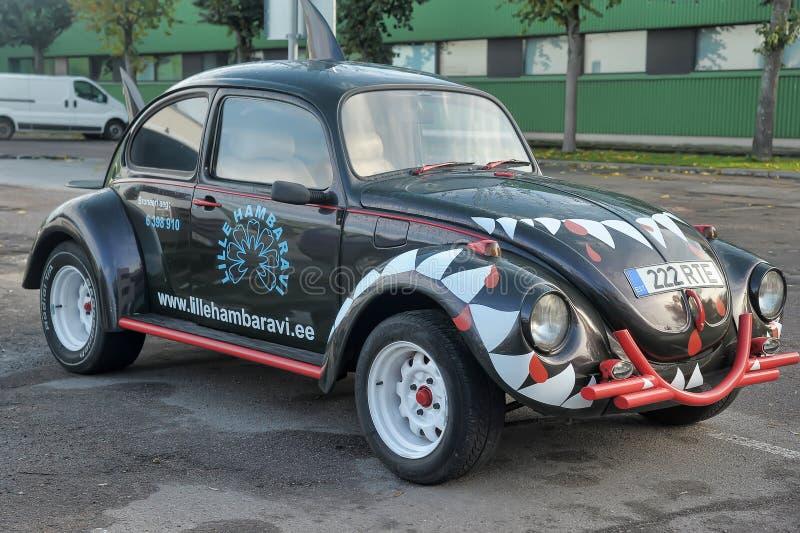 Volkswagen skalbagge fotografering för bildbyråer