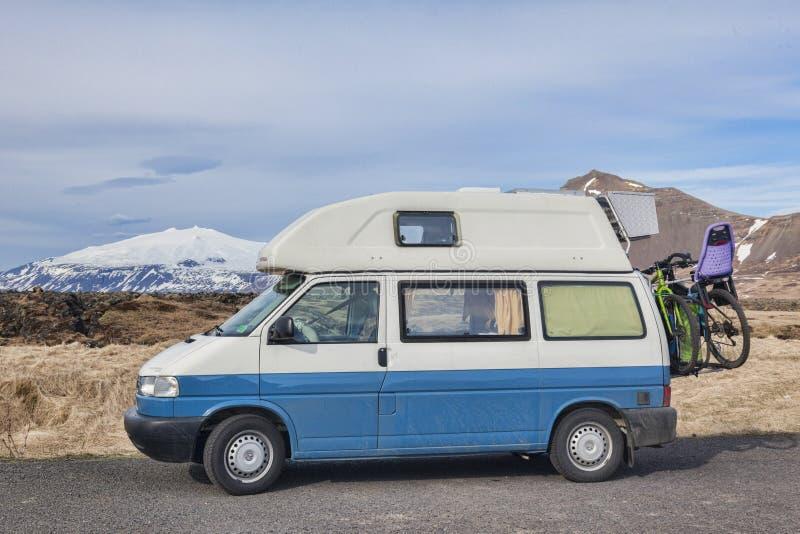 Volkswagen T4 Campervan stock foto's