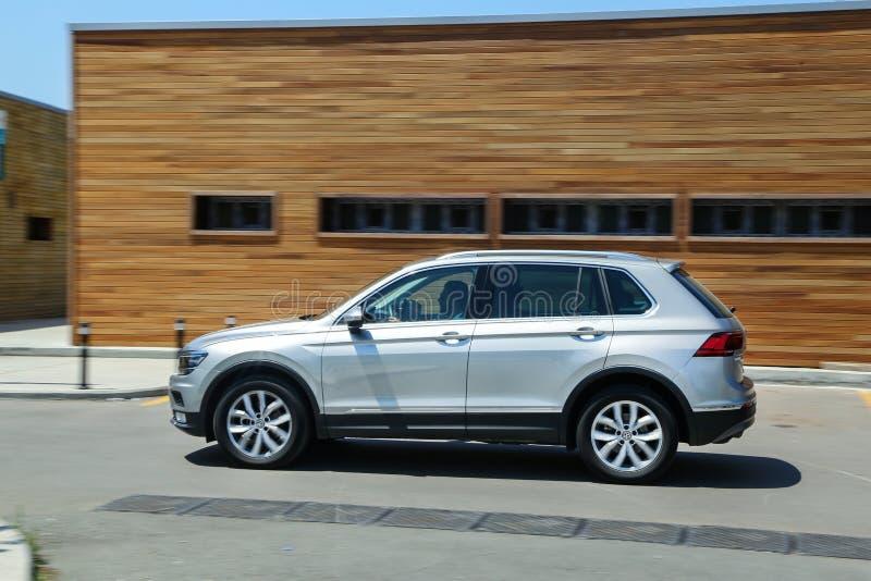 Volkswagen Tiguan royaltyfria bilder