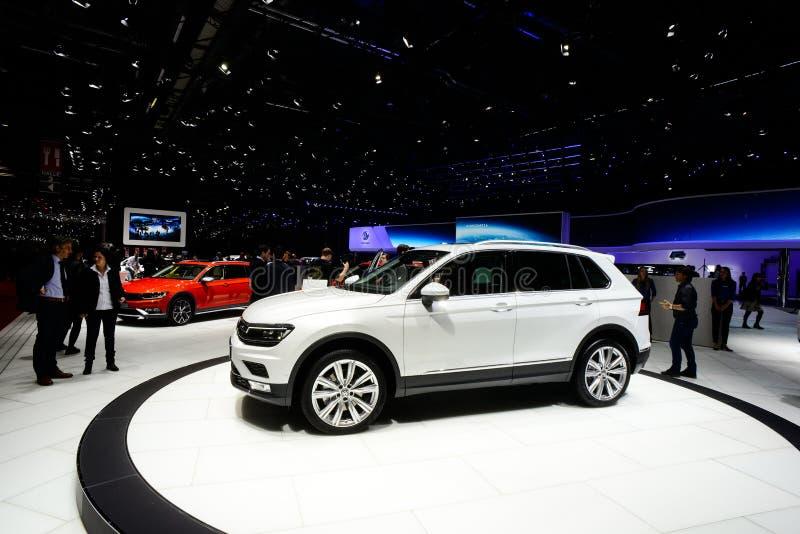 Volkswagen Tiguan arkivbild