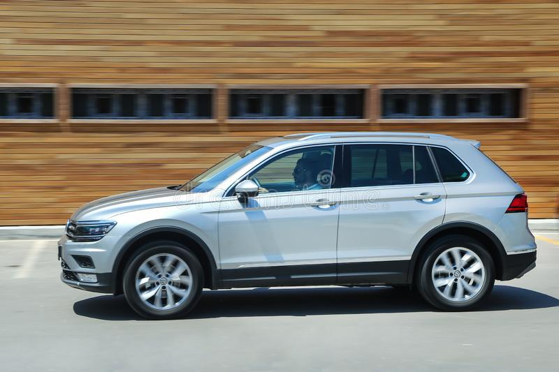 Volkswagen Tiguan royalty-vrije stock afbeeldingen