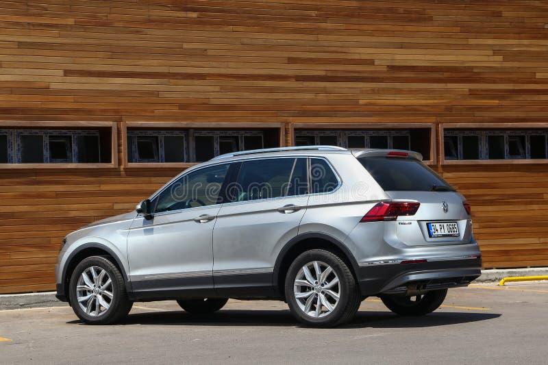 Volkswagen Tiguan royalty-vrije stock fotografie