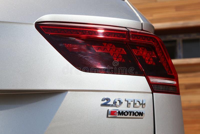 Volkswagen Tiguan stock afbeeldingen