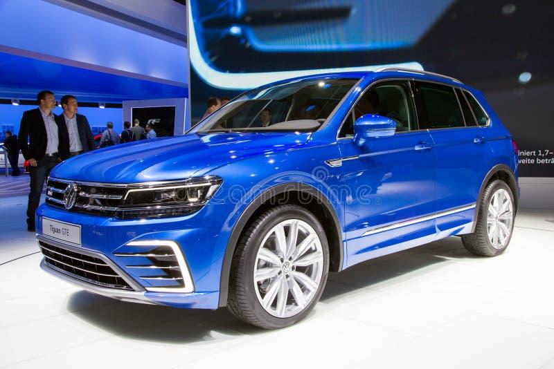 Volkswagen Tiguan GTE royaltyfri fotografi