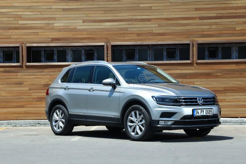 Volkswagen Tiguan zdjęcia stock