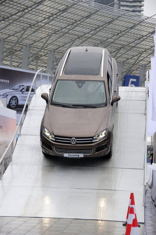 Volkswagen Touareg SUV fotos de archivo