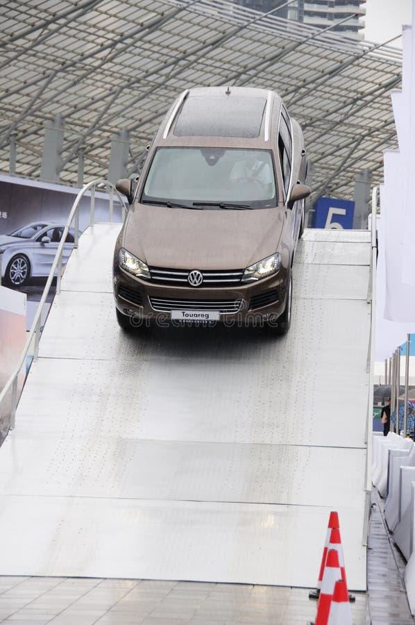 Volkswagen Touareg SUV fotos de archivo libres de regalías