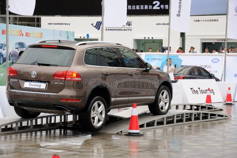 Volkswagen Touareg SUV imágenes de archivo libres de regalías