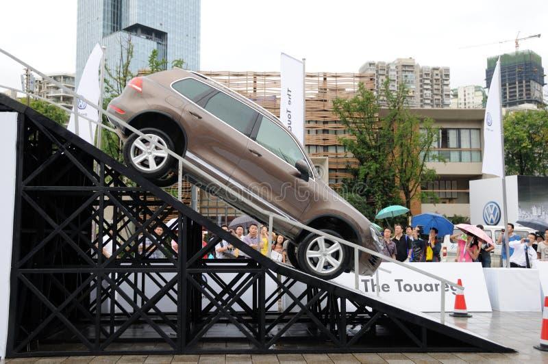Volkswagen Touareg SUV fotografía de archivo libre de regalías
