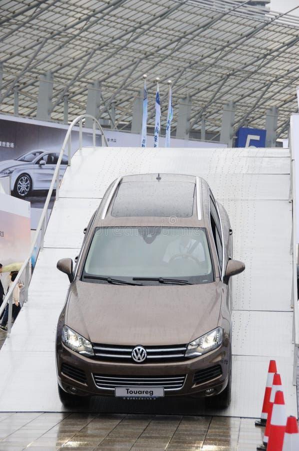 Volkswagen Touareg SUV imagen de archivo libre de regalías
