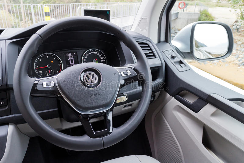 Volkswagen Transporter 2016 Interior Editorial Photography - Image ...