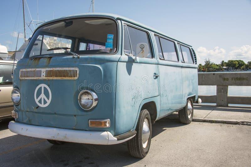 Volkswagen van stock image