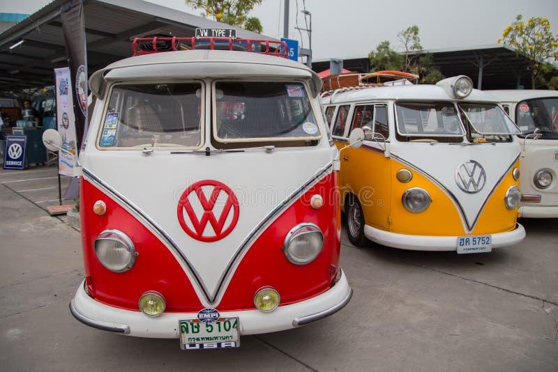 Volkswagen van owners club meeting in Thailand royalty free stock photography