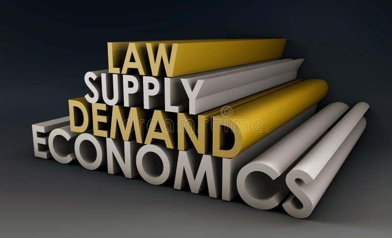Volkswirtschaft stock abbildung