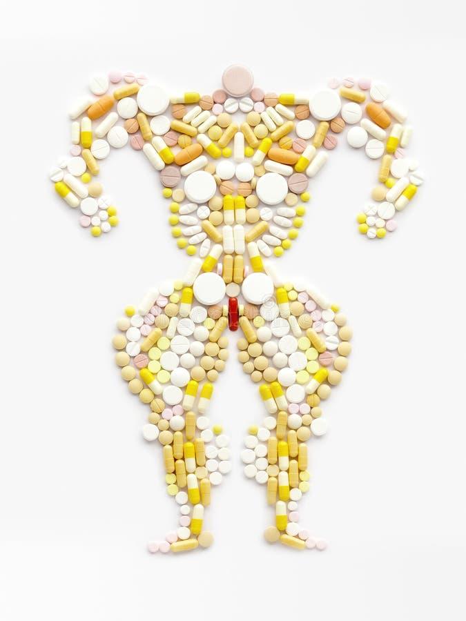 Voll vom Doping. lizenzfreie stockbilder
