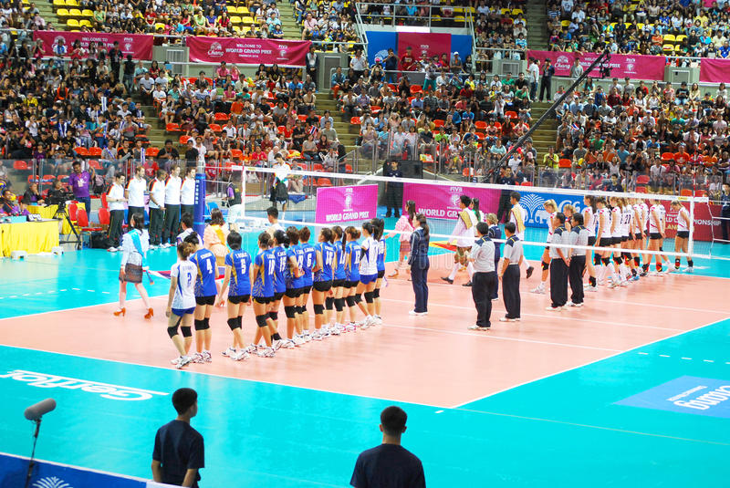 Download Vollayball editorial photo. Image of 2013, flag, player - 33229836