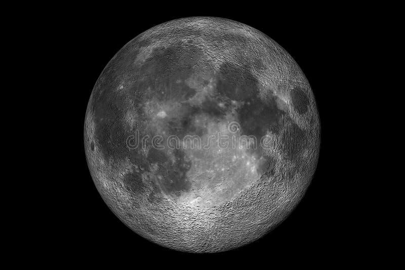 Download Volle maan stock illustratie. Illustratie bestaande uit planeten - 25952