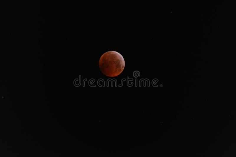 Volle maan met verduistering royalty-vrije stock afbeelding