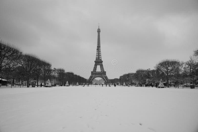 Volledig de torenpanorama van sneeuweiffel stock afbeelding