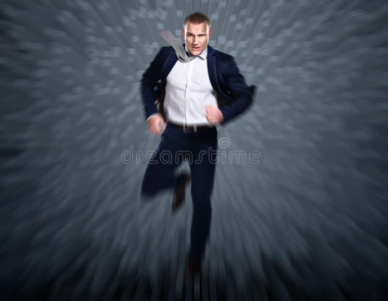 Download Volledig Lengteportret Van Een Zakenman Stock Afbeelding - Afbeelding bestaande uit snel, volledig: 39111965