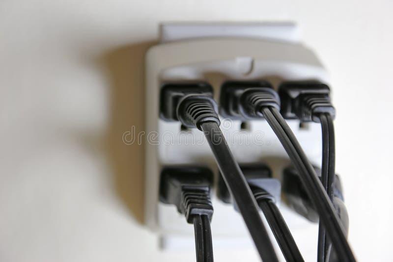 Volledige Elektrische Afzet stock foto