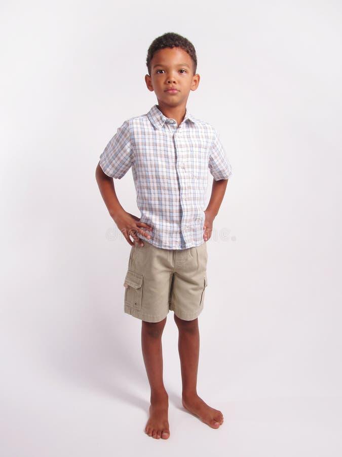 Volledige lengte van een jongen royalty-vrije stock fotografie