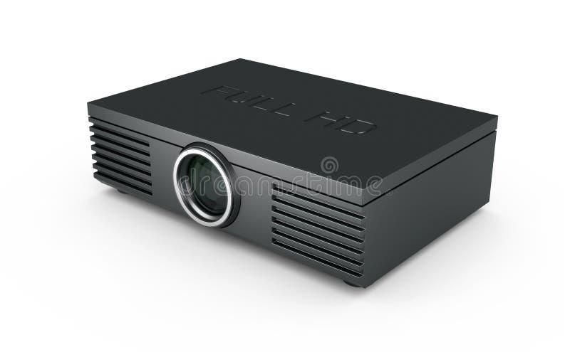 Volledige Projector HD vector illustratie