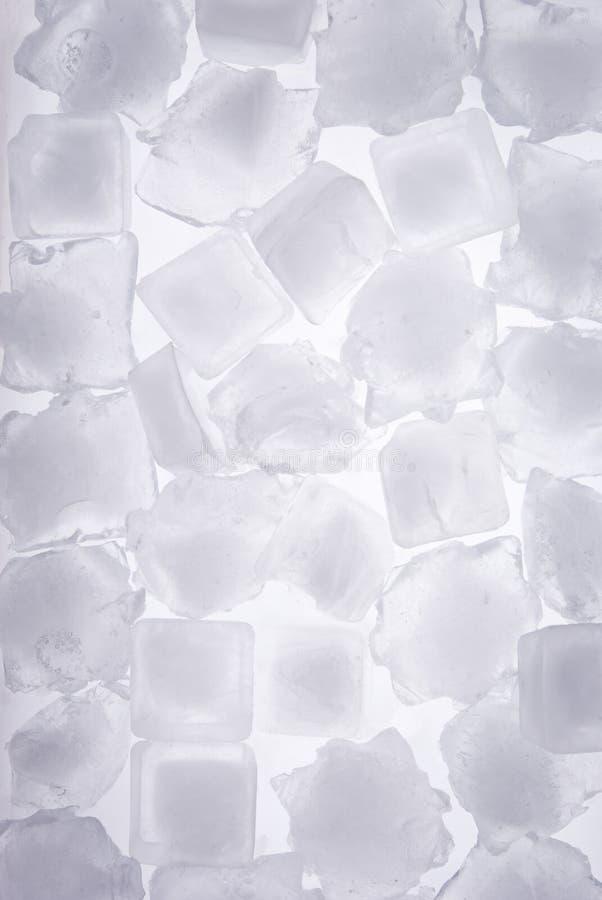 Voller Rahmen der Eiswürfel lizenzfreie stockfotografie