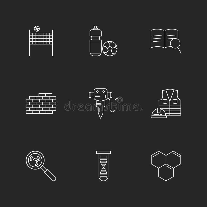 volley σφαίρα, καθαρή, σφαίρα, τούβλα, τοίχος, κομπρεσέρ, εργασία ελεύθερη απεικόνιση δικαιώματος