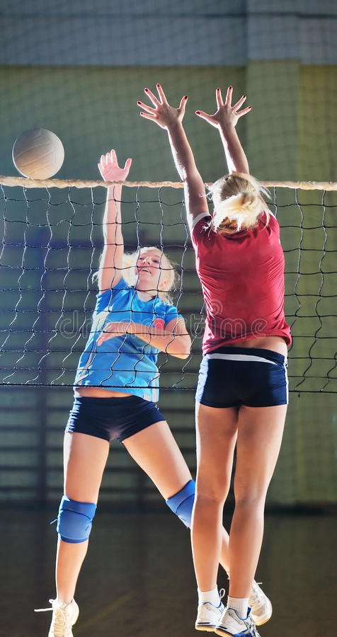 Volleyball stock foto