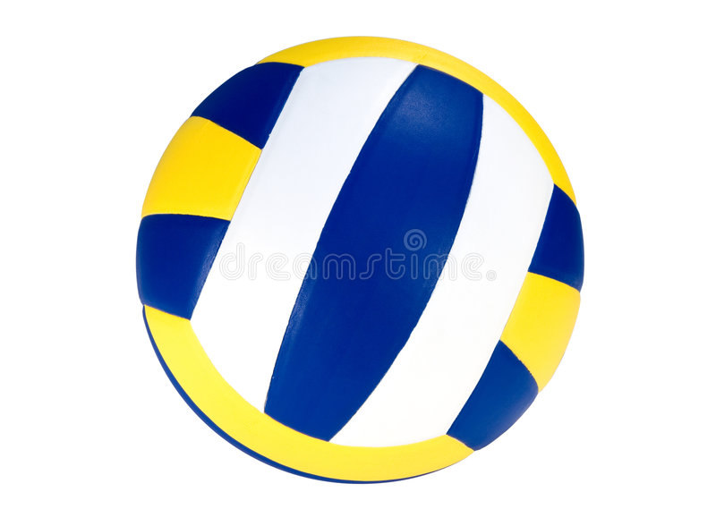 Download Volleyball stock photo. Image of blow, kids, ball, leather - 1478508